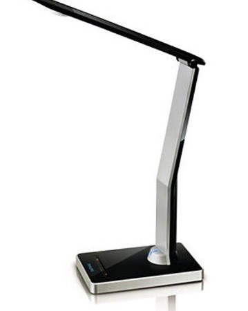 Philips 69195 30 86 Led Icare Desk Light Black And Aluminium